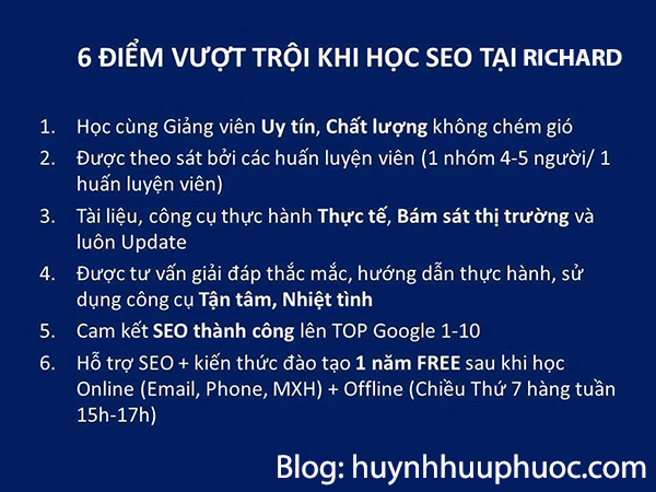 khoa hoc seo website tphcm