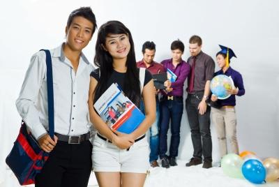 Giờ giải lao của sinh viên học tại Đào tạo seo HP