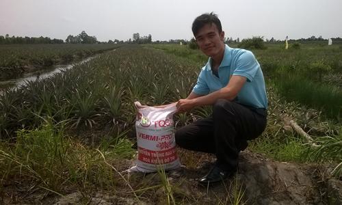 Nguyễn Văn Sang : 'vua' trùn quế đất Củ Chi
