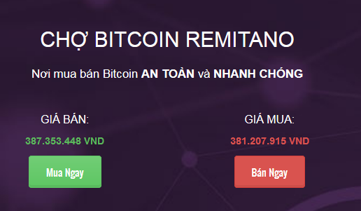 Bitcoin-Remitano